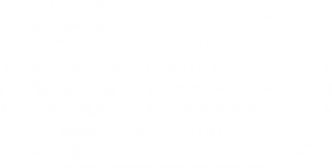 Mark of trust certified by ISO 27001