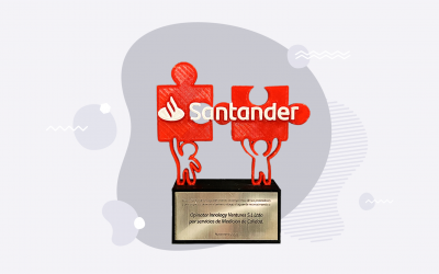 Santander Chile Recognizes OPINATOR Among Best 2020 Vendors