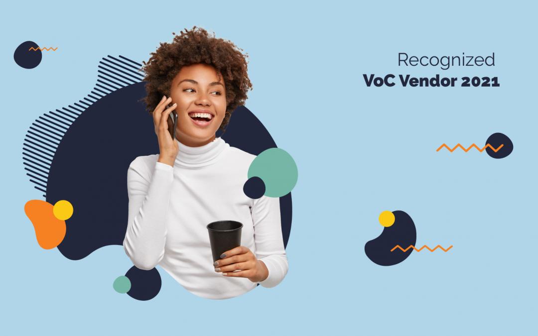 OPINATOR incluido entre proveedores de Voz del Cliente (VoC) 2021 por una firma independiente